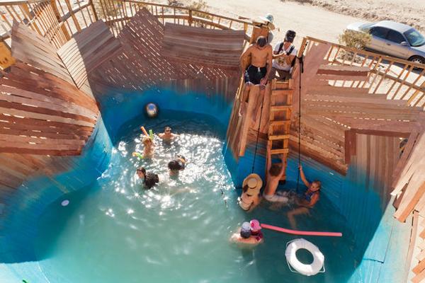 Yucca crater pool