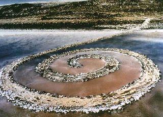 Spiral jetty 1970